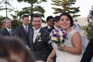 Steve and Sarah Shapiro, the newlyweds!