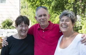 Mary, Jay, and Deb
